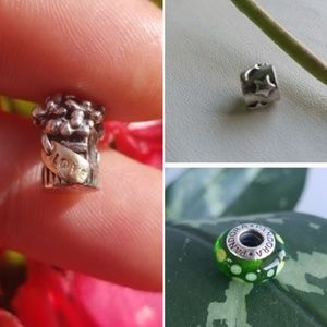 Authentic PANDORA. ALL 3 BEADS FOR 32!!!🤗😮